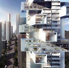 Büro Ole Scheeren, torre residencial en Vancouver (Canadá) - Arquitectura Viva · Revistas de Arquitectura