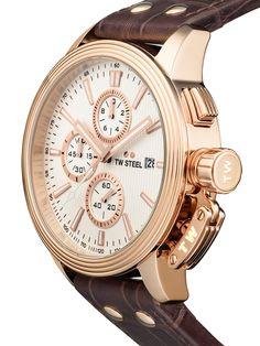 ⌚TW-Steel CE7014 Herrenuhr günstig @Timeshop24.de Gold Watch, Chronograph, Steel, Watches, Accessories, Sapphire, Minerals, Sporty, Get Tan