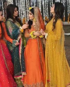 Wedding Dance Video, Indian Wedding Video, Fancy Wedding Dresses, Bridal Dresses, Stylish Dresses For Girls, Girls Dresses, Pakistani Bridal Makeup, Fancy Dress Design, Indian Fashion Dresses