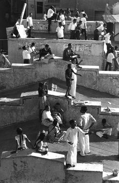 Kite Festival Ahmadabad, India, 1966. Photo: Henri Cartier-Bresson