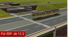 """Sie erhalten den Artikel """"Zusatzset Straba 1000mm Spur Stadtbrücke/Hochstraße"""" ab sofort im EEP Shop: https://eepshopping.de/?view=program_detail&ID_PROGRAM=7930"""