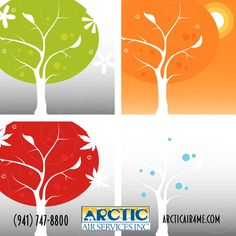 Arctic Air has you covered no matter what the season Arctic Air, Heating And Air Conditioning, Heating And Cooling, Seasons, Seasons Of The Year