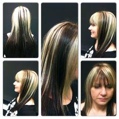 #hair #color #twotoned #fun #young #salon #vabeach #tangledupsalonvb #HAIR  Cut and color by Nikki  www.tangledupsalon.com