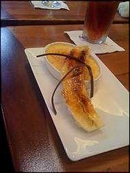 Caramel Banana Crème Brulée - Kona Cafe, Disney Polynesian Resort