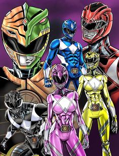 The Power Rangers Pawer Rangers, Dino Rangers, Power Rangers Pictures, Saban Entertainment, Power Rangers Fan Art, Vr Troopers, Green Ranger, Mighty Morphin Power Rangers, Cute Anime Pics