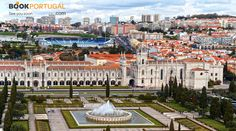 Belém for your delight, with Jerónimo´s Monastery and Belenenses Stadium in the background.
