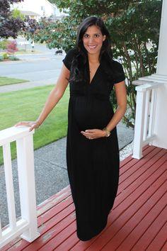"""Stitch Fix & Maternity Style - Gilli """"Jess Basketweave Detail Jersey Maxi Dress"""" #stitchfix #maternity"""