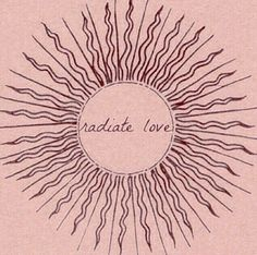 GIRLBOSS MOOD: Radiate love girlfriend! // Inspirational quotes and daily reminders