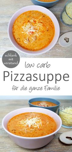 Pizza soup low carb # low carb recipes Pizza soup low carb A great low . - Pizza soup low carb # Low carb recipes Low carb pizza soup A great low carb dish for the whole fami - No Calorie Foods, Low Calorie Recipes, No Carb Diets, Soup Recipes, Diet Recipes, Vegetarian Recipes, Healthy Recipes, Pizza Recipes, Snacks Recipes