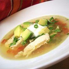 Avocado Soup with Chicken and Lime - Allrecipes.com