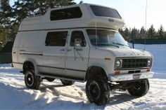 My 4x4  van, 78' Ford sleeps 4. My camping rig when doing shows. CTKNIVES.COM