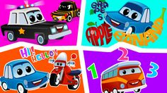 Meet Zeek and his friends in this compilation video where children will find cars and truck dancing and singing. #zeekandfriends #nurserysongs #compilation #kidssongs #babysongs #educational #funlearning #cars #vehicles #forbabies