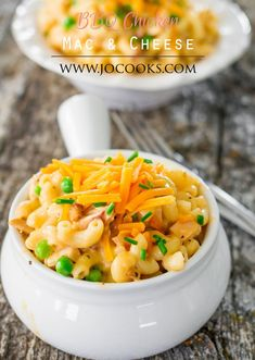 BBQ Chicken Mac and Cheese - a 30 minute delicious meal that's perfect for the entire family. Take your classic mac and cheese to a whole new level of flavor!