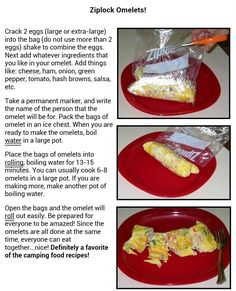 Camping recipes are excellent method to have tasty and healthy meals while camping. Lots of camping and outdoors sites have camping dish concepts and likewise have areas where you can share your favorite camping recipe with other campers. Breakfast And Brunch, Breakfast Recipes, Camping Breakfast, Brunch Recipes, Camping Dishes, Camping Meals, Camping Hacks, Family Camping, Camping Guide