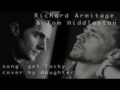 get lucky | richard armitage & tom hiddleston