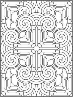 Welcome to Dover Publications Creative Haven Mandala Madness Coloring Book by nenanik