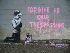 Salt Lake City, 2010 - Banksy spotting