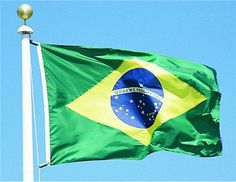 National Flag of Brazil Soccer Mondial 2014 High Quality Special Edition New