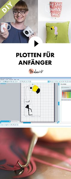 In unter 3 Stunden Plotten lernen - Schritt für Schritt erklärt im Video-Kurs via Makerist.de