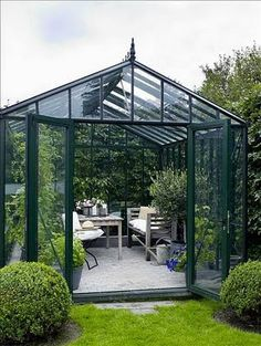 conservatory/greenhouse~onto the wish list.which is getting very long