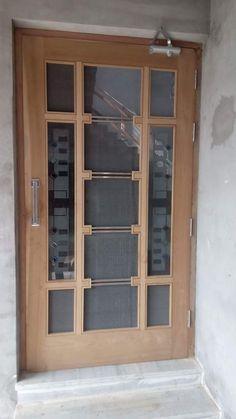 Glass Door Design For Kitchen 39 Super Ideas Flush Door Design, Door Gate Design, Room Door Design, Door Design Interior, Bedroom False Ceiling Design, Window Design, Wooden Front Door Design, Wooden Doors, Modern Wood Doors