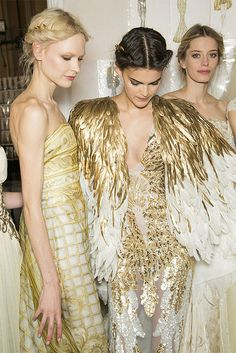 places : backstage at zuhair murad spring 2013 couture by {this is glamorous}, via Flickr
