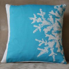 Seasons Pillow - Hibernal  | organic pillow | eco-friendly pillow | modern design | american made design| eco-friendly home décor and accessories | sustainable gifts | free eco shipping on all orders