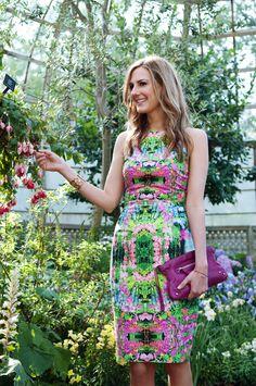 What to Wear to a Garden Affair by Anna Jane Wisniewski of See Jane via @Matty Chuah Everygirl    Zara dress: $89.90