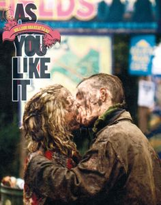 The poster for the RSC's 2013 production of AS YOU LIKE IT. I saw this in Stratford and loved it. Still my favorite Shakespeare play...