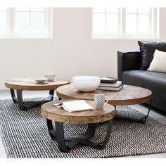 d-Bodhi salontafel Soul No.1, 100 cm 30xØ100 cm #home #decor #designe