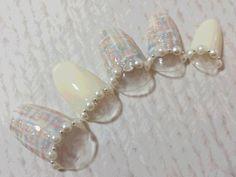 気になるデザインを徹底解剖!「ツイードネイル」のセルフネイルのやり方について知りたい! - Yahoo! BEAUTY Yahoo Beauty, Winter Nails, Nail Arts, Pearl Earrings, Pearls, Jewelry, Pearl Studs, Jewlery, Bijoux