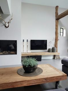 Fireplace and shelf