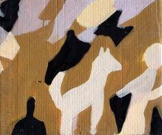 Acrylique sur carton. Dimension: 39x46 cm www.fondationsolangebertrand.org