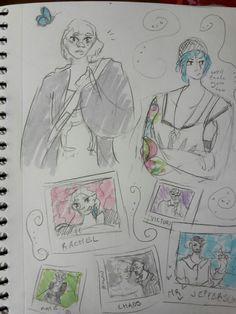 Life Is Strange sketch :P
