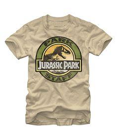 Love this Jurassic Park 'Park Staff' Tee - Men's Regular by Jurassic Park on #zulily! #zulilyfinds