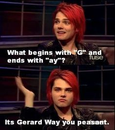 my chemical romance funny - yep I'm going to ask people this and wait for their reaction
