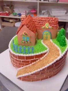 Cake Decorating Frosting, Cake Decorating Designs, Cake Decorating Supplies, Cake Decorating Techniques, Cake Decorating Tutorials, Crazy Cakes, Fancy Cakes, Cute Cakes, Cake Designs For Girl