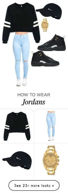 """Street Style"" by karizzmarocks on Polyvore featuring NIKE and Porsamo Bleu"