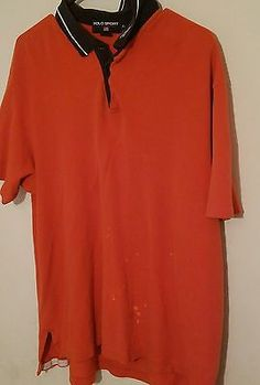 Ralph Lauren Polo Sport Orange Collar US Button Shirt Pre-owned