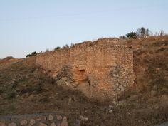 muralla romana frente al lavadero