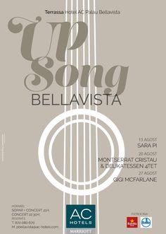 Nou pòster dissenyat, per uns sopars amb música jazz a la terrassa de l'hotel AC Palau de Bellavista. #marlonbrandingmethod #advertisingagency