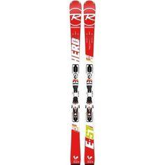 Rossignol Hero Elite TI ST Racing Skis with Bindings (162)
