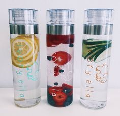 """White ivory ella water bottles"" ivory ella -find at ivoryella.com"