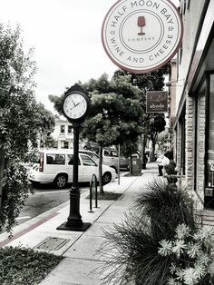 Downtown Half Moon Bay~ I am just repinning but this is our store!
