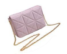 Armeley New Retro Chain Shoulder Bag Lozenge Cross Body Bags (violet)