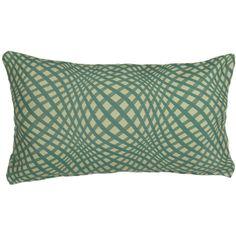 Mastercraft Fabrics Gingham Polyester Lumbar Pillow