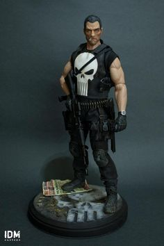 custom 1/6 action figures | ... Punisher by IDM Customs 1/6 Scale 12 Inch Hot Toys Size Action figure