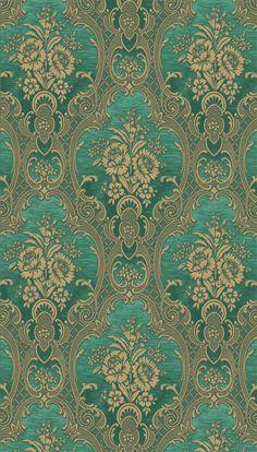 Victorian Wallpaper, Damask Wallpaper, Textured Wallpaper, Designer Wallpaper, Pattern Wallpaper, Wallpaper Backgrounds, Iphone Wallpaper, Molduras Vintage, Mosaics