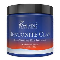 Salviso Bentonite Clay Acne Treatment Face Mask 16oz -- Details can be found by clicking on the image.