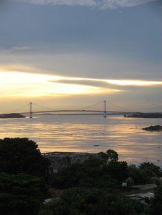 Puente Angostura sobre el Río Orinoco